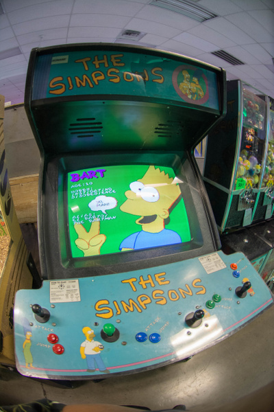 DOH!  I didn't know they made an arcade game. by Willis...