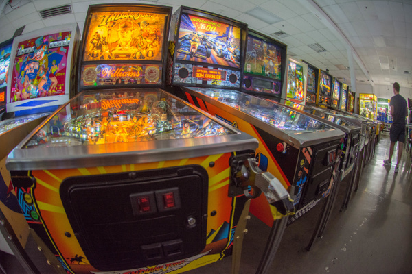 2017Sep Las Vegas Pinball Hall of Fame by Willis Chung
