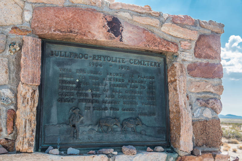 The plaque has stood up well to time, and gunfire.
