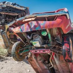 2017Sep International Car Forest of the Last Church, Goldfield, Nevada