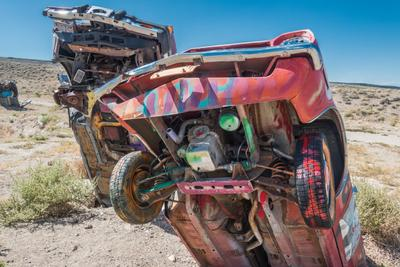 2017Sep International Car Forest of the Last Church, Goldfield, Nevada