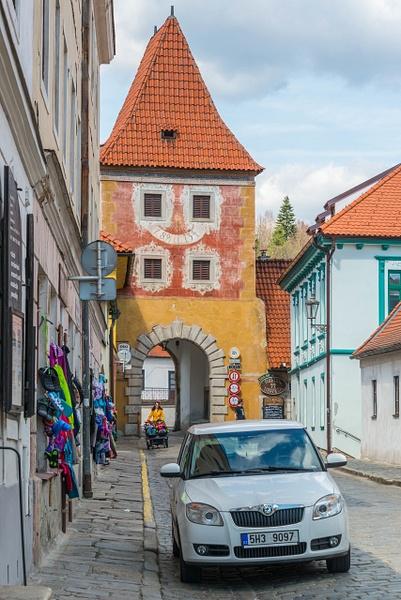 Back at  Budějovická brána (Budweiser Gate) for a...