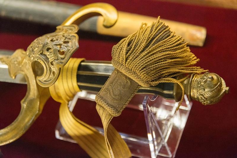 Tassel and hilt of a dress sword