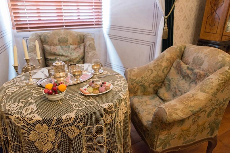 A lovely spot for some tea!