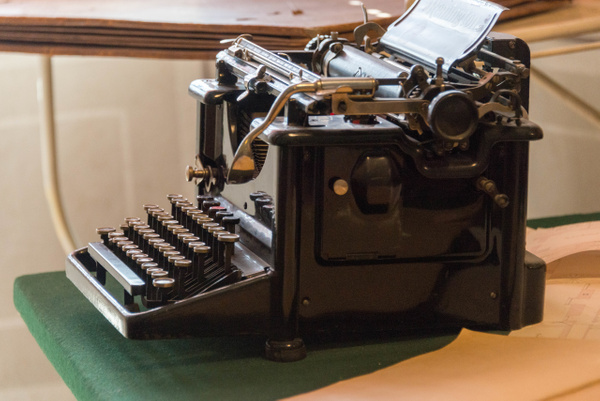 Antique Czech word processor. by Willis Chung