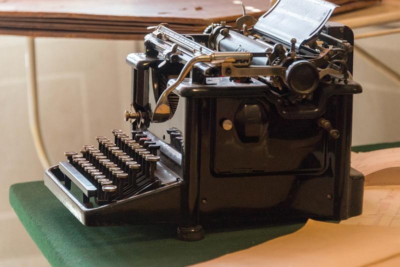 Antique Czech word processor.