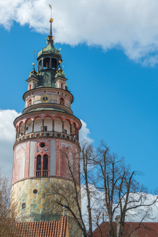 The Bell Tower of the castle. We will climb up there soon!
