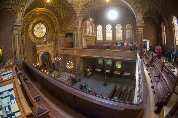 Day 7 Old-New, Klausen, and Spanish Synagogues by Willis...