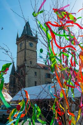 Day 7 PM Old Town Square Easter Market