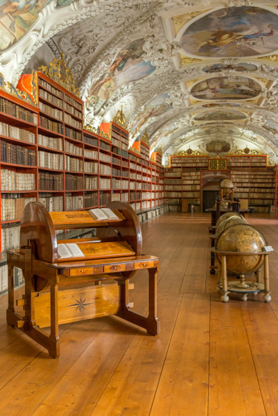 Day 9 AM Strahov Library by Willis Chung