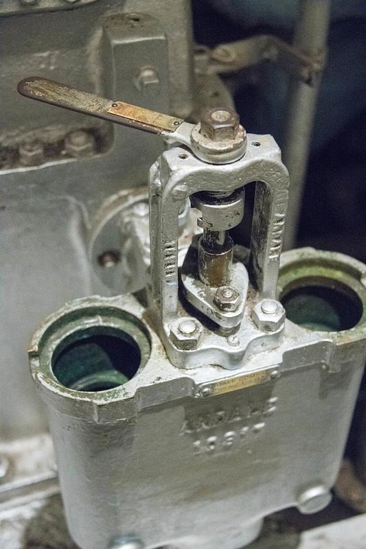 A multi-turn valve.