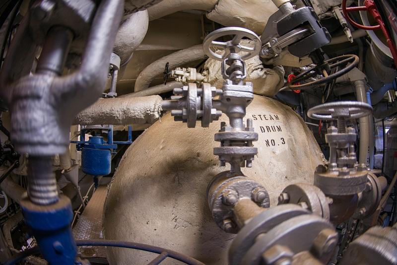 Boiler number 3 on the Joe Kennedy.