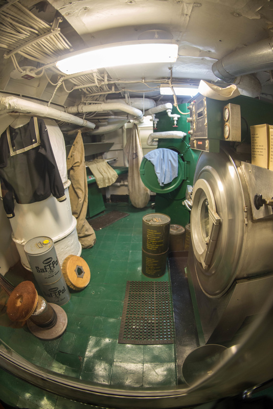 Ship's laundry.  Need detergent by the drum-full.