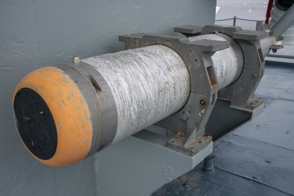MK46 ASW torpedo seeker and warhead end. by Willis Chung