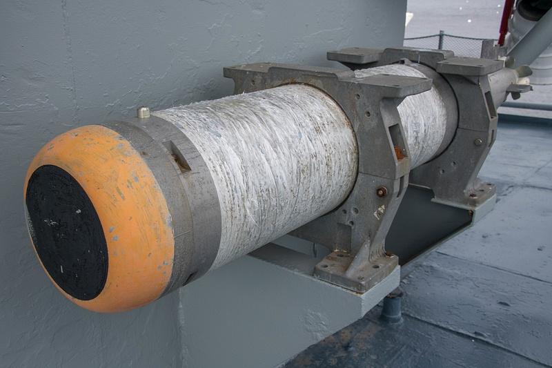 MK46 ASW torpedo seeker and warhead end.