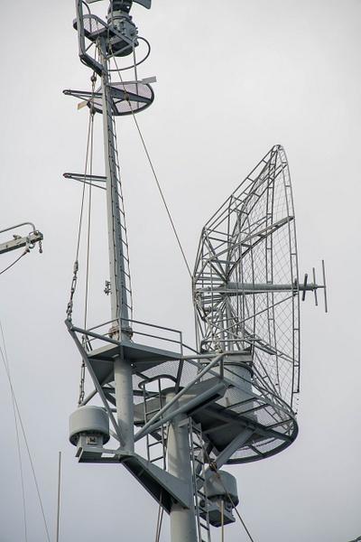 SK-2 with 17ft dish antenna for long range radar...