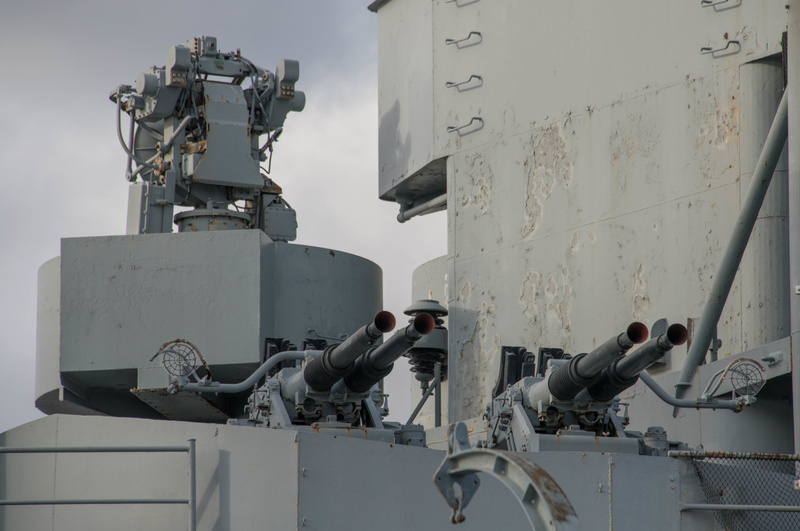 GFCS (Gun Fire Control System) Mk.57 used to direct the 40mm anti-aircraft guns.