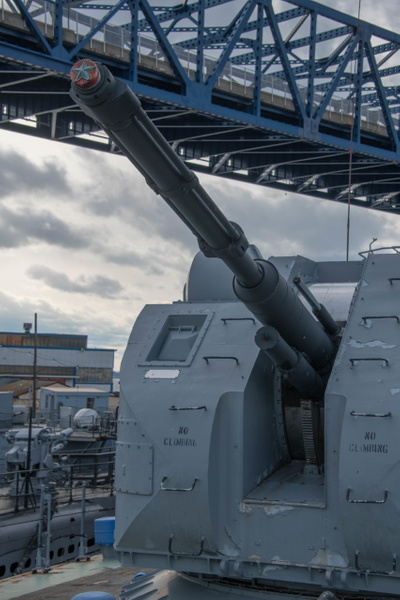 76 mm AK-176 main gun turret, with up to 152 rounds...