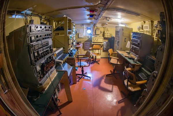 This looks like the communications room. by Willis Chung