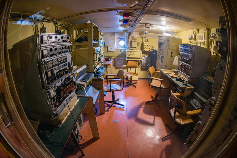 This looks like the communications room.