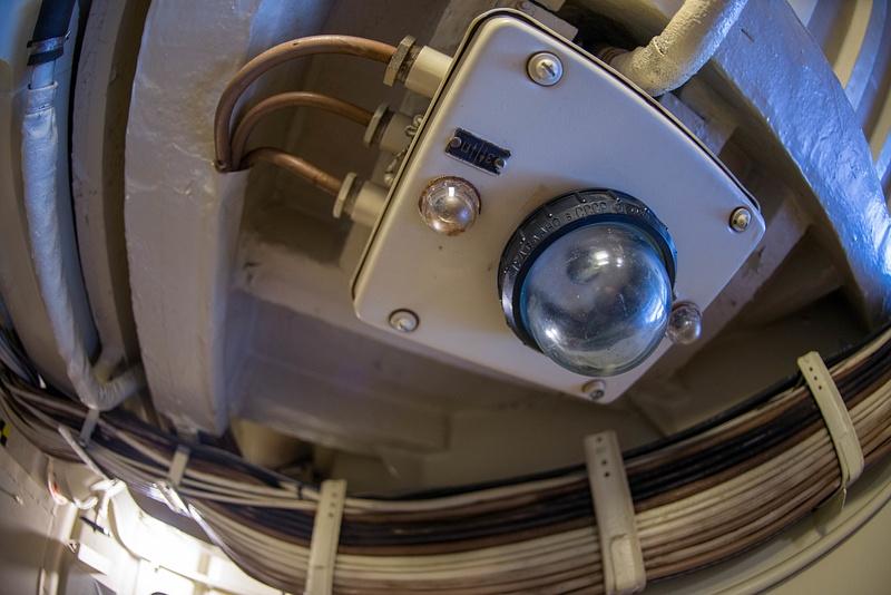 Soviet emergency light?  Note use of standard slotted screws.