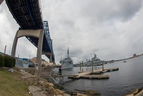 Battleship Cove is under the Charles M. Braga, Jr...