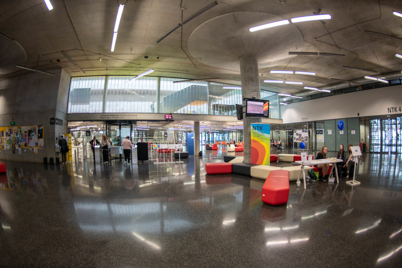 Lobby of the The National Library of Technology