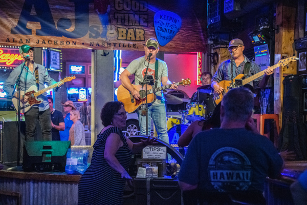 Day 2 Mark Box Band, AJ's Good Time Bar Nashville by...