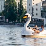 Day 7 Paddleboat on the Vltava River