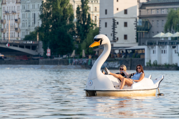 Day 7 Paddleboat on the Vltava River by Willis Chung