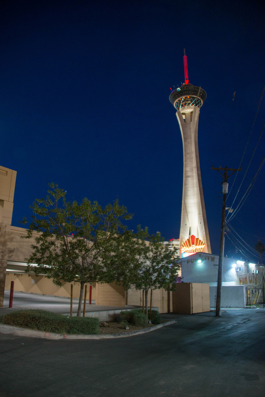 Another view of the Stratosphere, a bit closer.