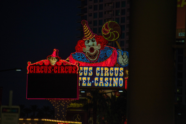 Nearby is Circus Circus Casino. by Willis Chung