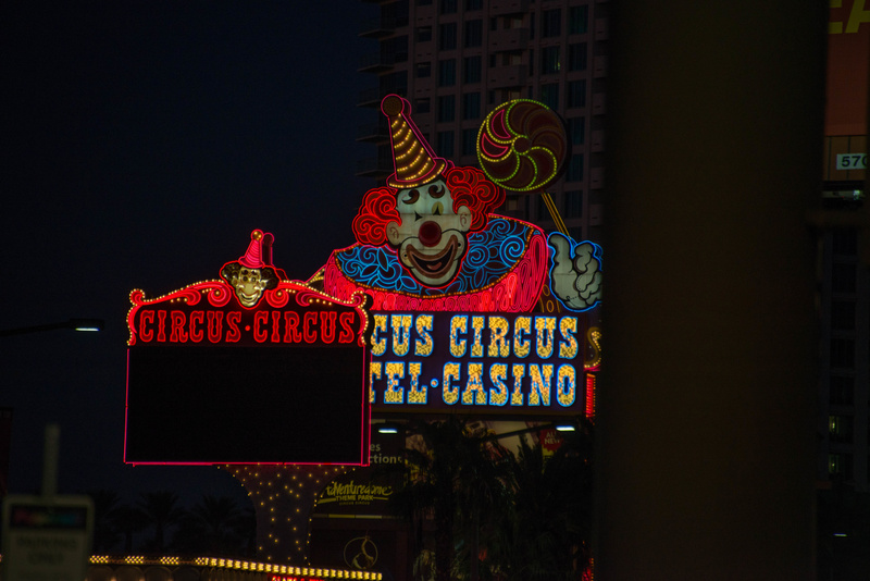 Nearby is Circus Circus Casino.