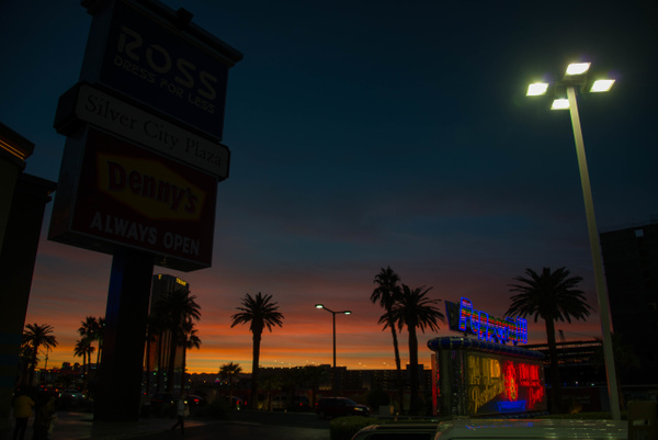 Twilight dinner at the Peppermill in Vegas by Willis...