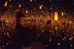 2019Mar Yayoi Kusama Bellagio Gallery of Fine Art