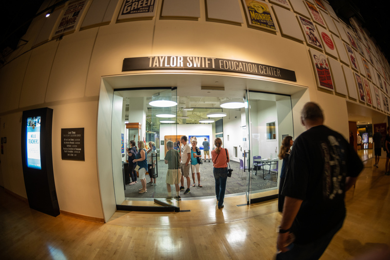 We find the Taylor Swift Education Center and take a look at the
