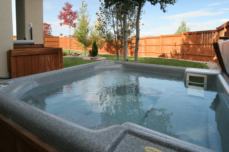 Hot tub open