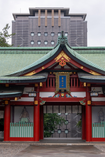 Day 3 Hie Shrine Tokyo by Willis Chung