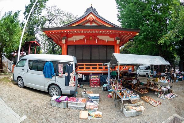 Day 7 Hanazono Shrine Flea Market by Willis Chung