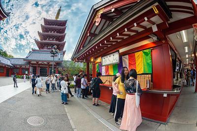 Day 8 Sensō-ji Temple Afternoon