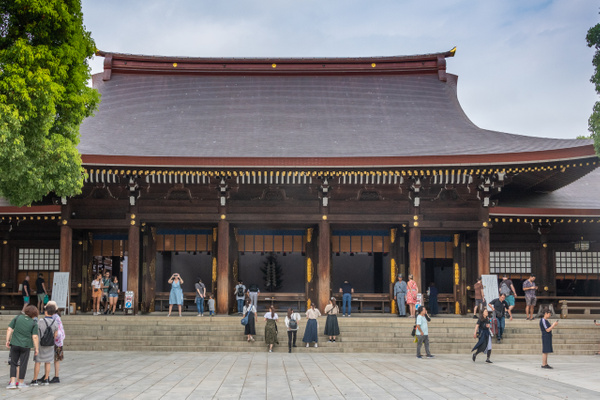 Day 9 Meiji Jingu by Willis Chung
