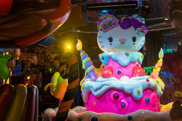 Day 11 Lunch at Kawaii Monster Cafe by Willis Chung