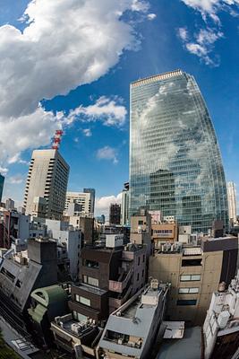 Day 13 Rooftop of Hotel Felice Akasaka