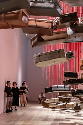 Day 13 Mori Art Museum: Shiota Chiharu