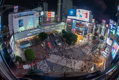 Day 14 Shibuya Shuffle Evening