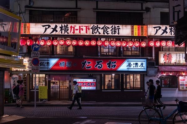 Day 16 Ueno Night Scenes by Willis Chung
