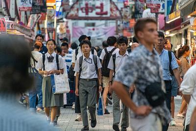 Day 17 Ueno Evening Scenes