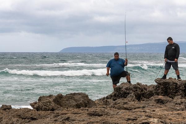 Day 7 Mokulēʻia Rock Beach by Willis Chung