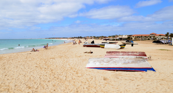 Cape Verde-land of downy waves by Mariah Nile