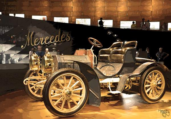 Mercedes-Benz Museum - The Mercedes started here